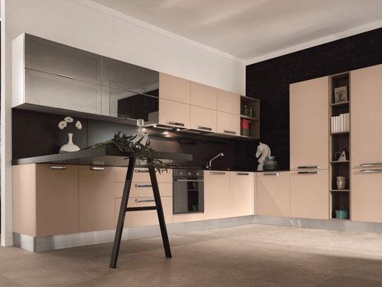 Кухонная столешница из ДСП цвета венге