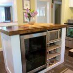 Стол-тумба для маленькой кухни
