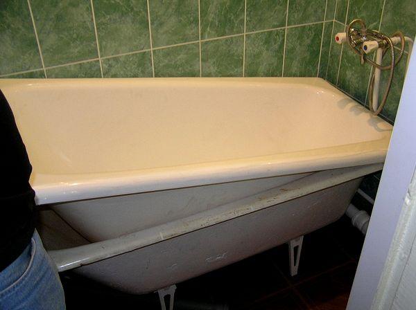 Акриловый вкладыш в ванную фото