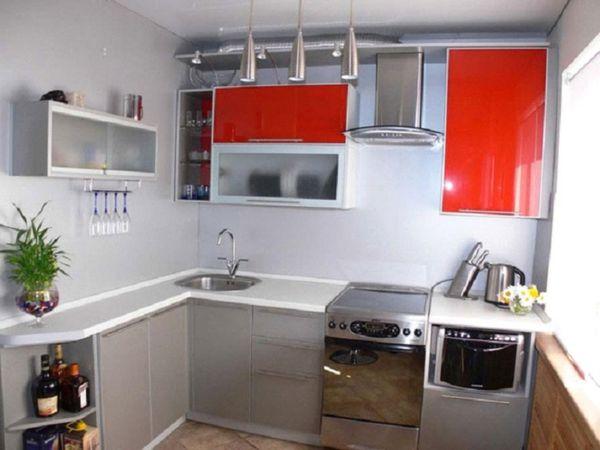 навесные ящики на кухне