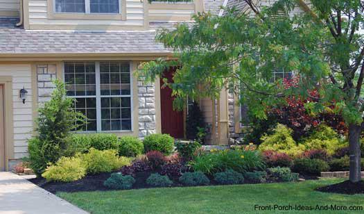 Ландшафтный дизайн перед домом 6