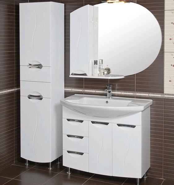 Мойдодыр в ванную комнату белый