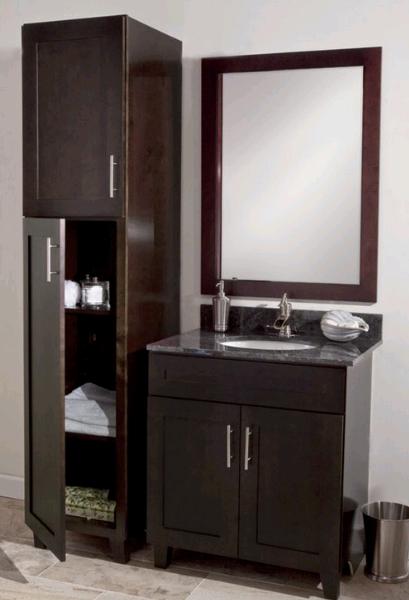Мойдодыр в ванную комнату коричневый