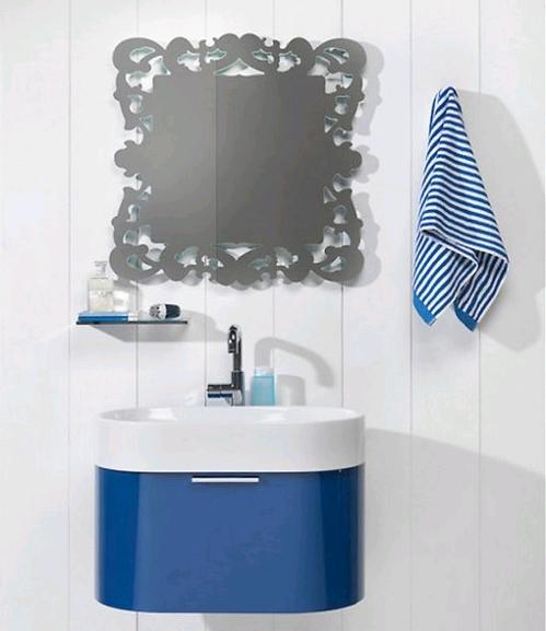 Мойдодыр в ванную комнату синий