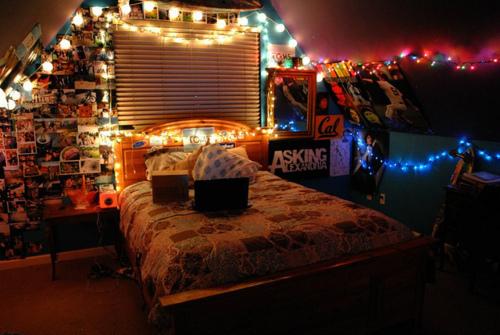 Освещение комнаты для подростка