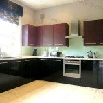Фото 163: Черная мебель на кухне