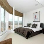 Фото 183: Кровать у панорамных окон