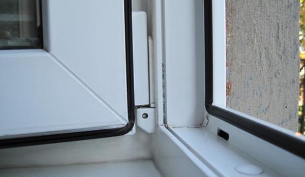 Уплотнитель для пластиковых окон открытое окно