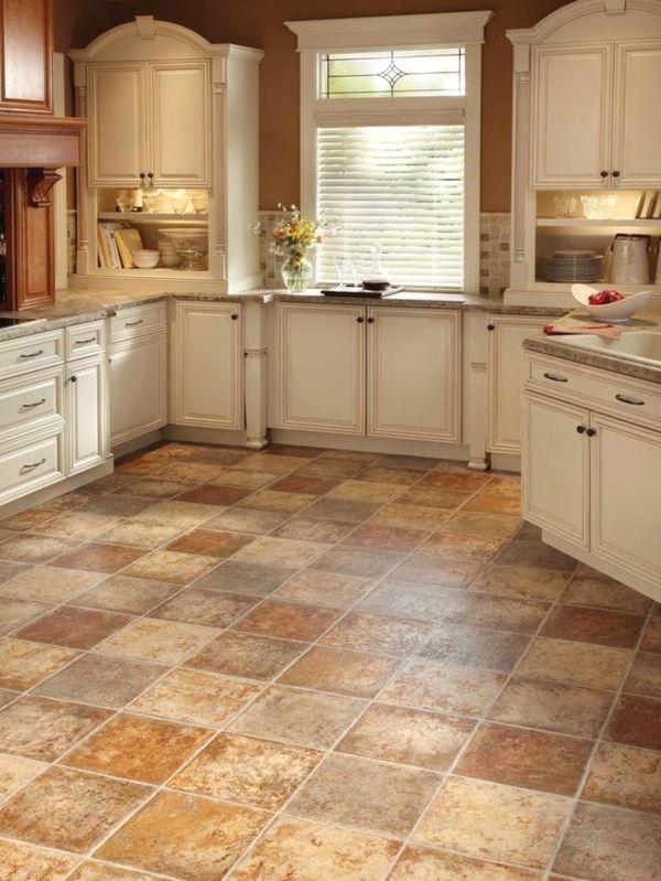 виниловая плитка на кухне