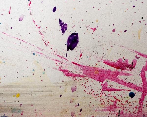 декорирование краской
