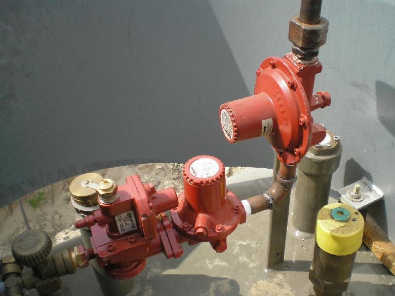 пассивная защита газгольдера