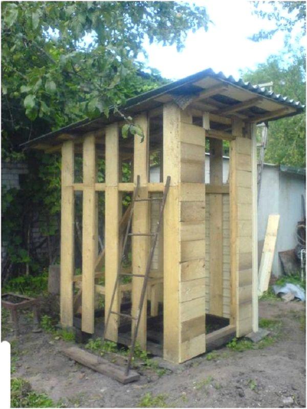Дачный душ построить