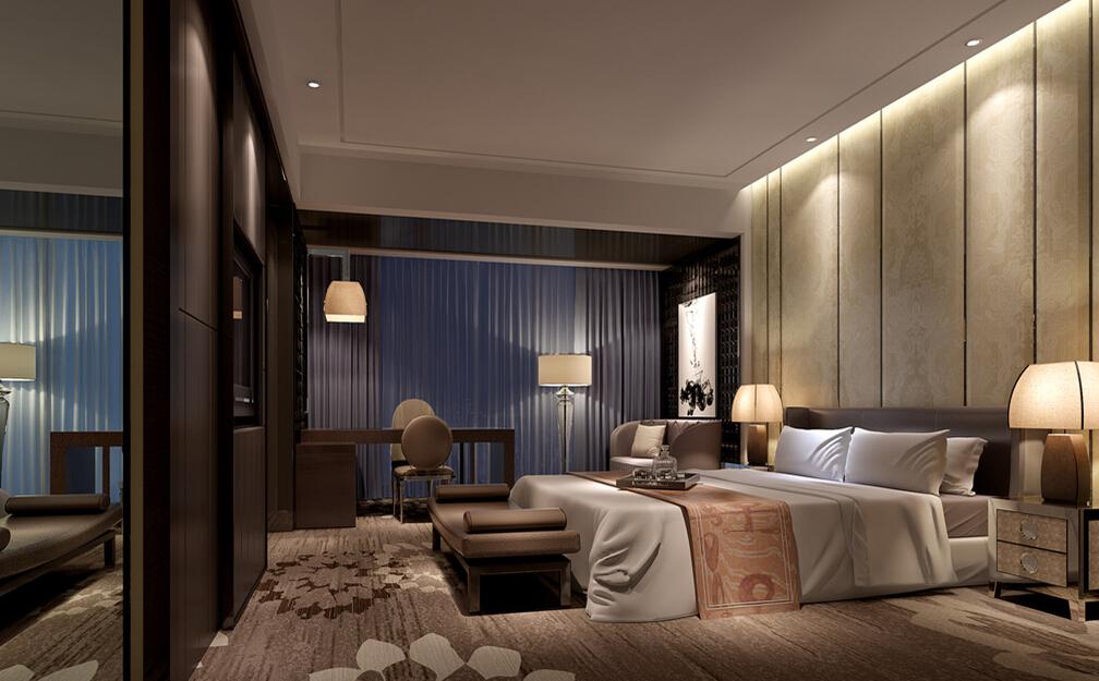 Подсветка и точечное освещение в спальне