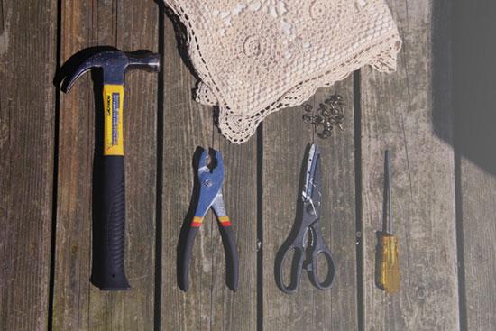 Мастер-класс по восстановлению старого стула: инструменты