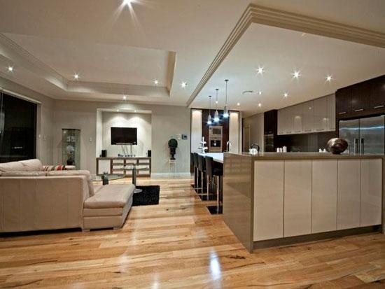 Рельефный потолок можно сделать из гипсокартона