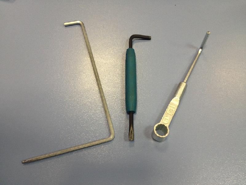 Основные инструменты для регулировки окон