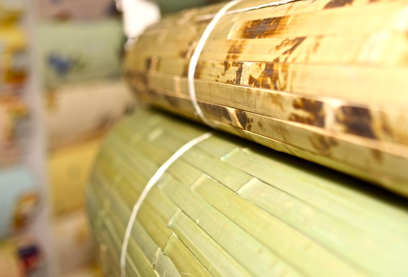 Натуральные бамбуковые обои