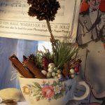 Фото 35: Новогодний топиарий в чашке