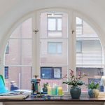 Фото 43: Откосы на круглое арочное окно