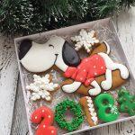Фото 28: Подарочный набор печенья к Году Собаки