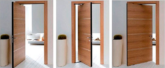 Поворотные раздвижные двери для гардеробной