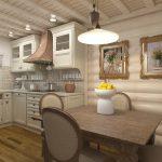 Фото 50: Дизайн кухонной вытяжки в светлом интерьере