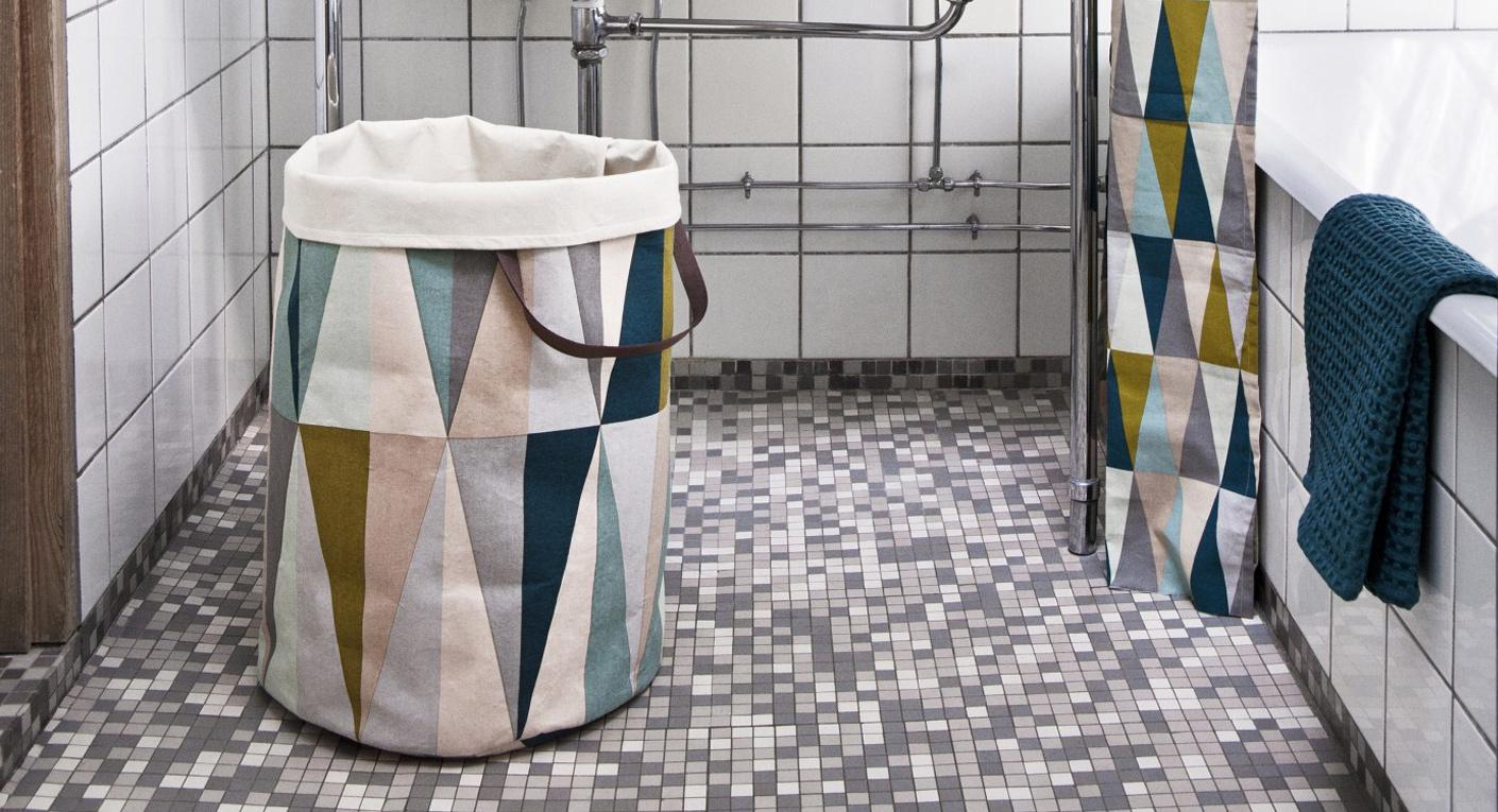 Короб для белья своими руками в ванной 84