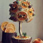 Фото 41: Топиарий с апельсиновыми дольками