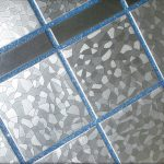 Фото 33: Голубая затирка для серой плитки