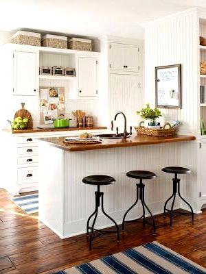 Барная стойка для кухни классическая