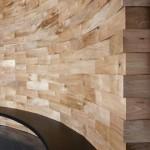 Фото 14: Баня с деревянными блоками