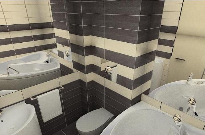 Кафель в ванной является практичным решением рачительного хозяина, обеспечивающим высокую художественную ценность интерьера