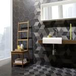Фото 18: Серый кафель для ванной комнаты