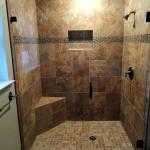 Фото 3: Бронзовый кафель для ванной комнаты