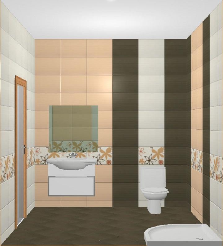 Классическая раскладка используется на открытых стенах без люков