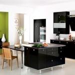 Фото 8: Черная мебель на кухне
