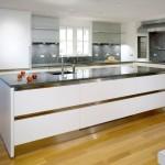 Белая кухня из икеи в 2015 году