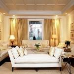 Фото 15: Белый широкий диван