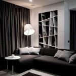 Фото 18: Темная мягкая мебель