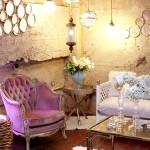 Фото 20: Фиолетовое кресло