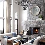 Фото 39: Мягкая мебель для гостиной фото серого интерьера