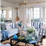 Фото 43: Синяя мебель в интерьере гостиной фото
