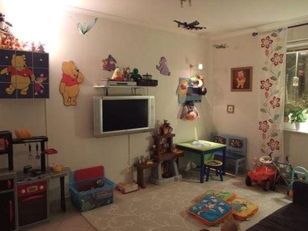 Настенный телевизор в детской