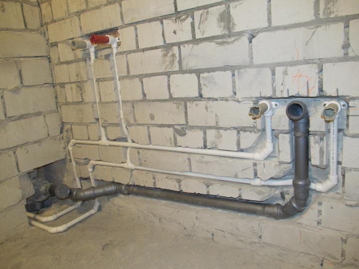 Разводка канализационных труб в ванной и туалете своими руками 301
