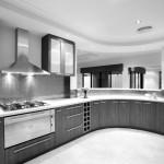 Фото 25: Серая кухня