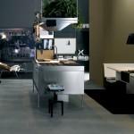 Фото 27: Металлическая мебель для кухни