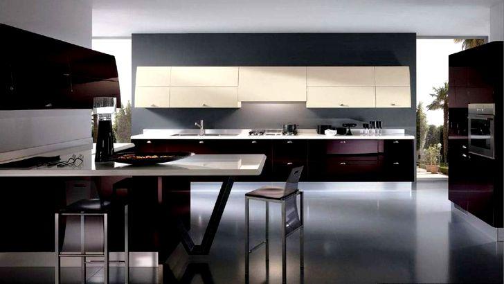 Темная современная кухня фото 2015 года