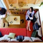 Фото 12: Красный диван в современном интерьере