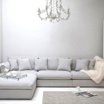 Фото 23: Серый диван под люстрой