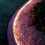 Фото 192: Садовая клумба с подсветкой